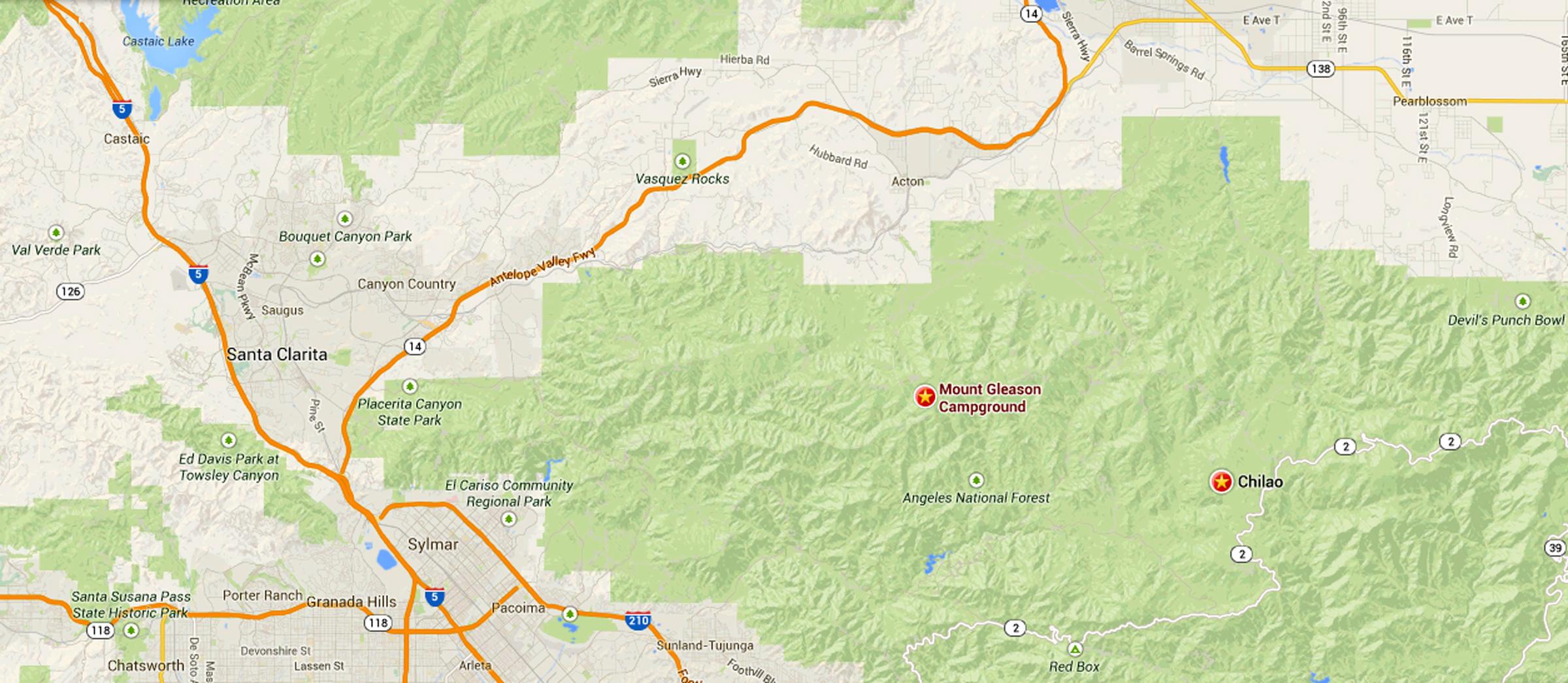 SCVHistorycom San Gabriels Bears I Have Met The Stories Of - Us map san gabriels mountain range
