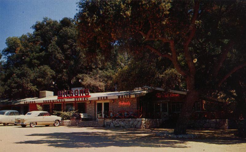 Scvhistory Com Cu1950 Agua Dulce Wilson S Restaurant