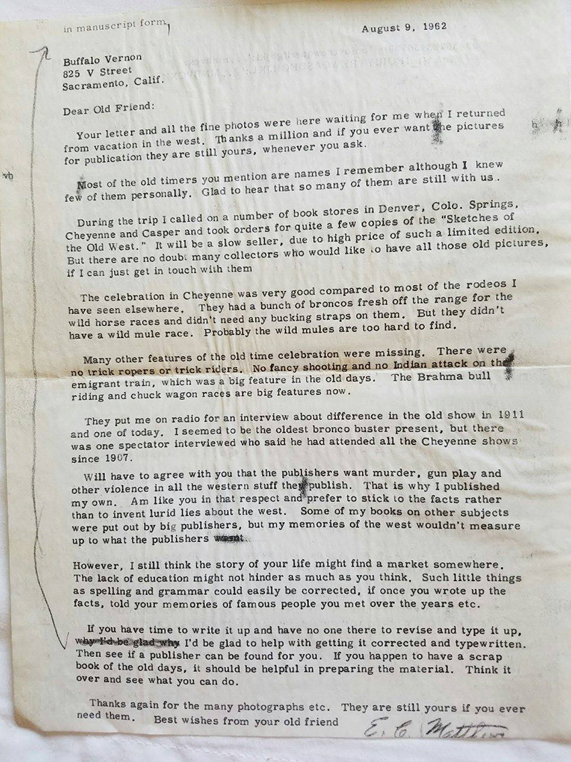 Scvhistorycom Very Corderly Yours The Tom Averill Vernon Letters