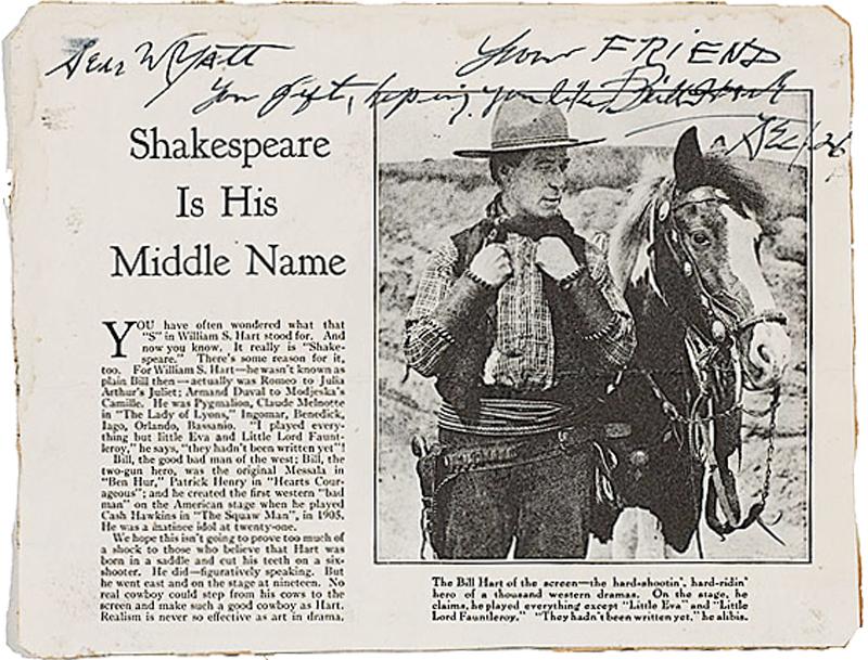 Wyatt Earp story