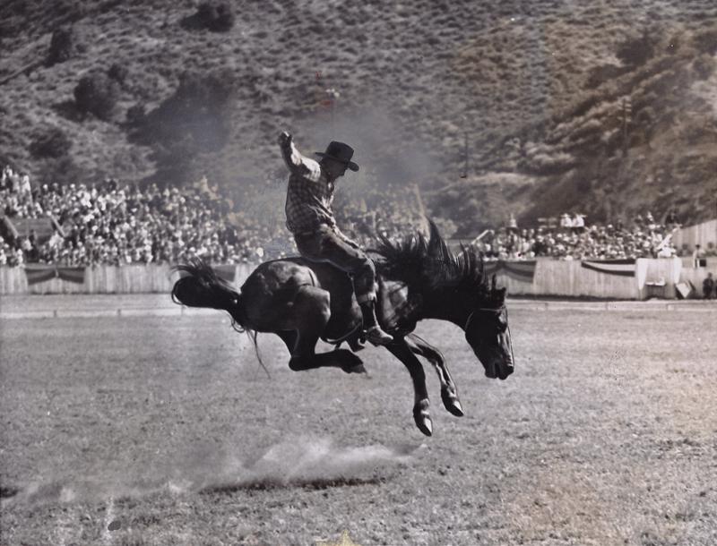 Scvhistory Com Lp3701a Saugus 1937 Hill S Ranch Rodeo