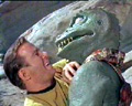 Kirk vs. Gorn commander