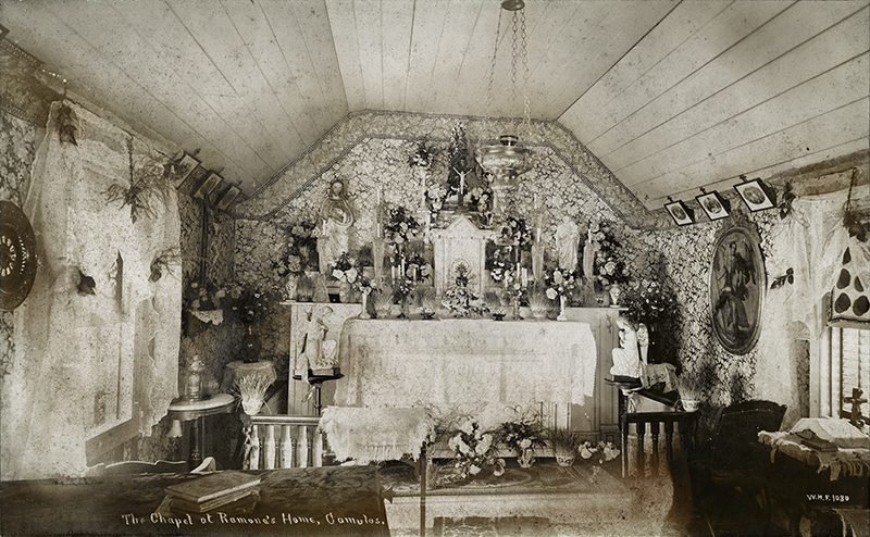 Scvhistory Com Lw2871a Rancho Camulos The Chapel At