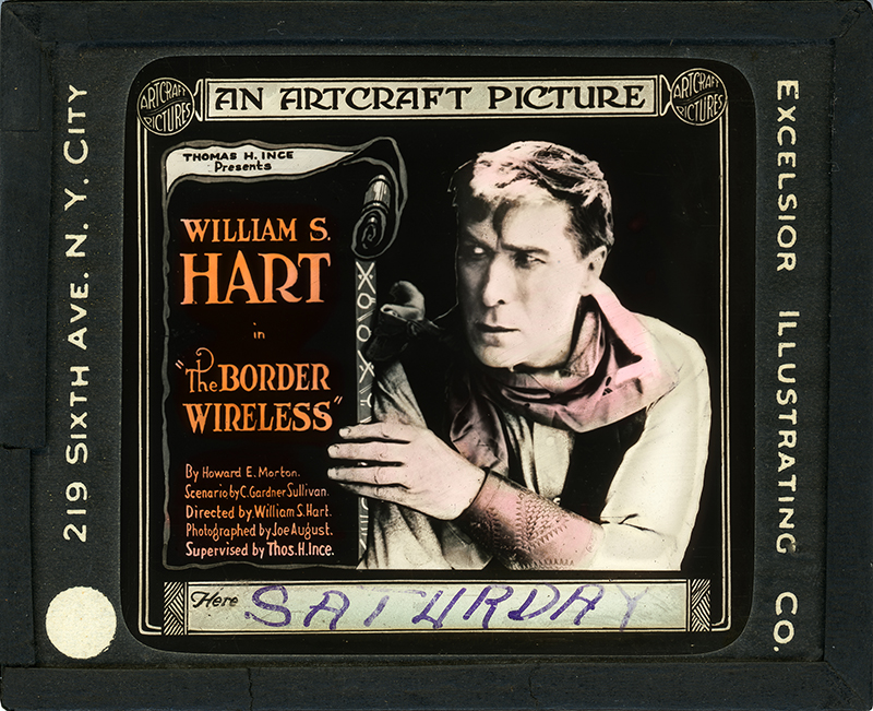 William S. Hart in The Border Wireless