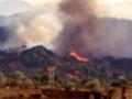 Clampitt fire