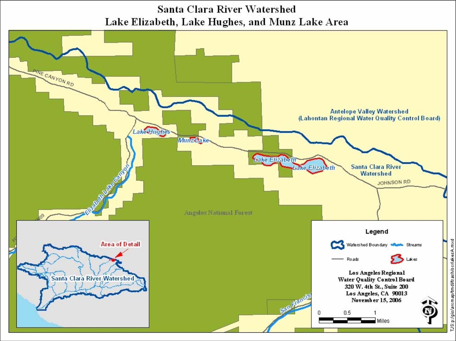 lake elizabeth ca map Scvhistory Com Lake Hughes About Lake Elizabeth Lake Hughes lake elizabeth ca map