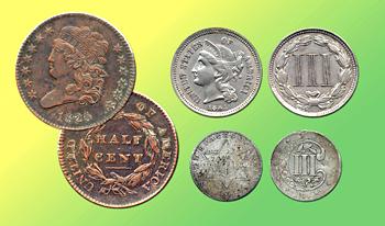 Odd-denomination coins