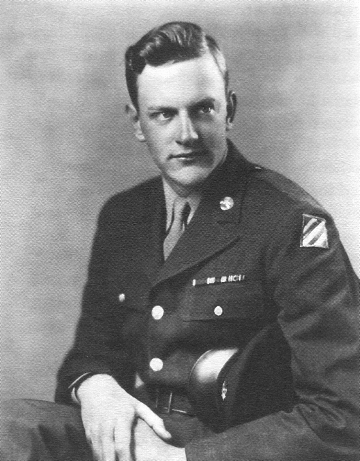 James Arness Army Private James K Arness