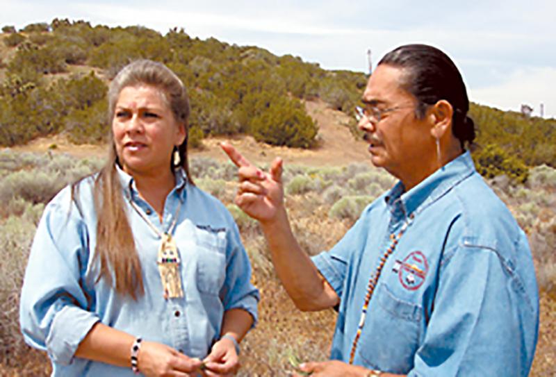 Donna Yocum and John Valenzuela