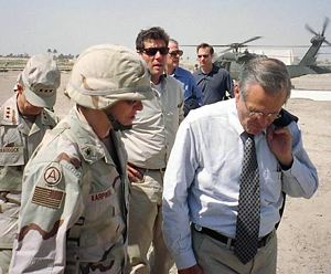 Karpinski and Rumsfeld