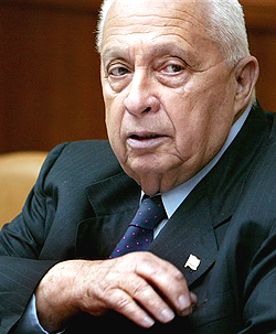 PM Ariel Sharon