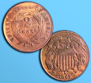 1864 2c
