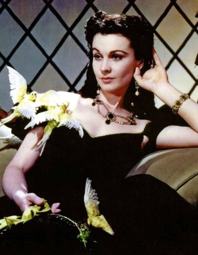 vivien leigh gone with the wind necklace