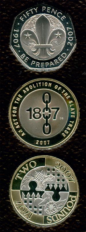 2007 coins