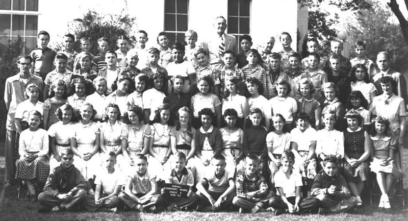 SCVHistory.com WR5350 | Newhall School | Sixth Grade, 1953